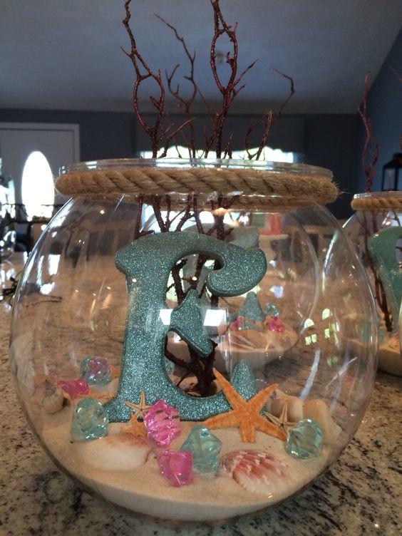 Meerjungfrau Kindergeburtstag Party