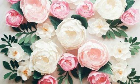 Die Schönheit der natürlichen Blumen ist unübertroffen, aber ein Paar Papierblumen können einen echten Hingucker sein, so werfen Sie einen Blick auf unsere Anleitungen fürs Papierblumen Basteln.