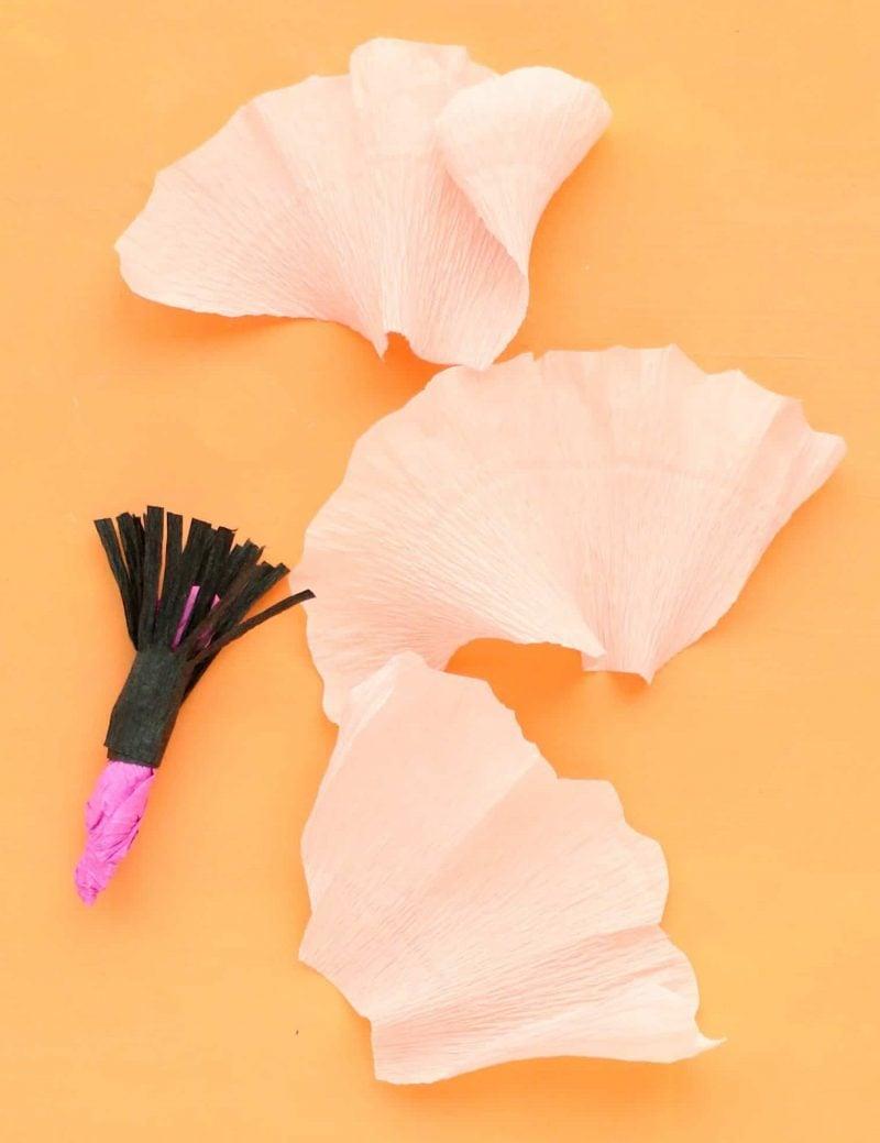 Blumen falten
