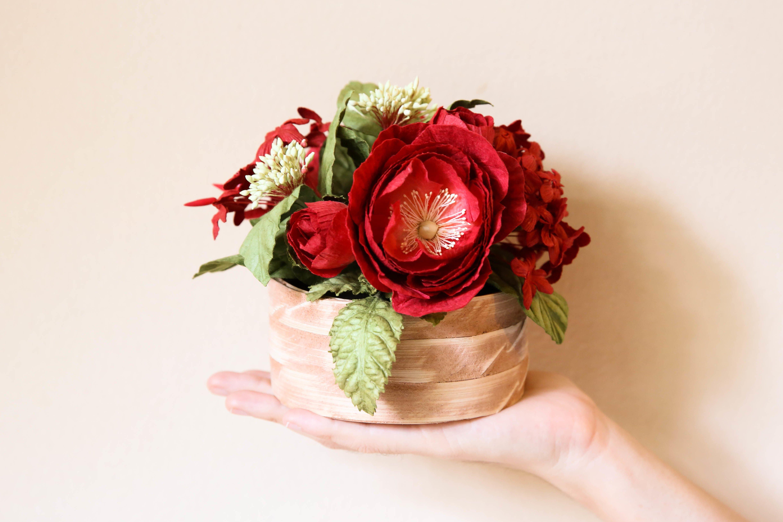 Tolle Anleitungen für Blumen Basteln mit Kindern