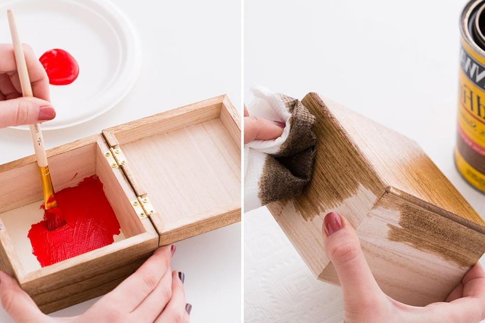 DIY Foto Geschenkbox basteln