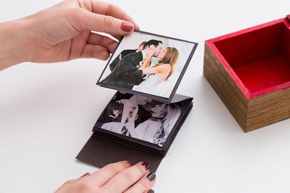 Foto Schachtel falten