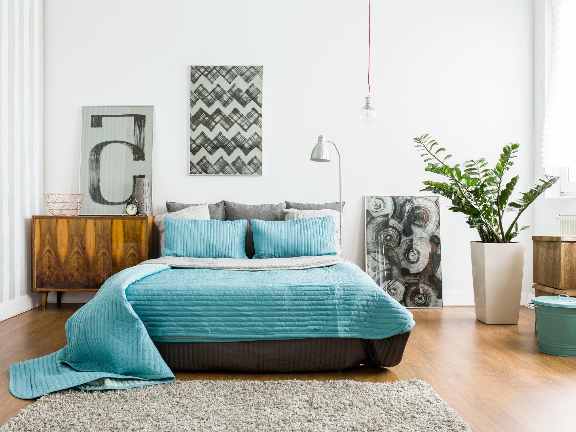 Schlafzimmer einrichten: Das Bett als zentrales Teil der Einrichtung