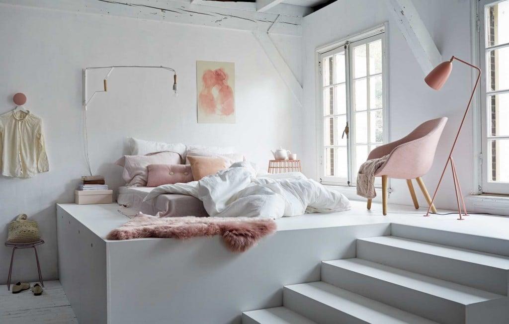 Weiblichkeit leben: Schlafzimmer einrichten in Rosa Farbe