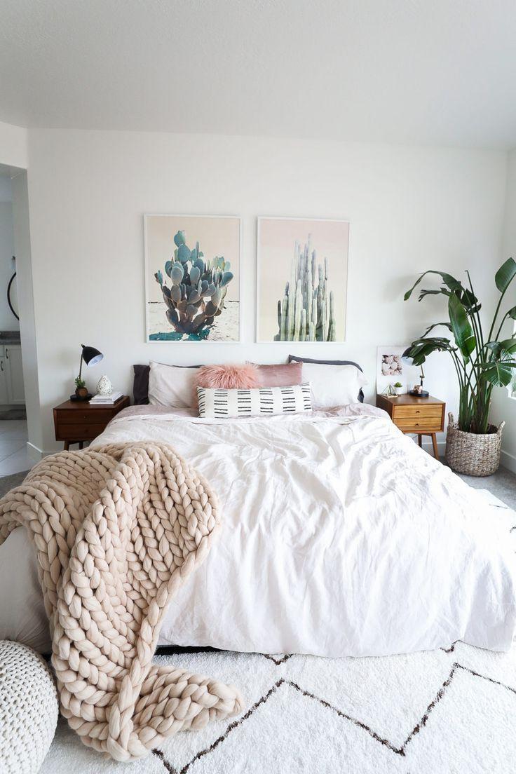 Schlafzimmer gestalten im skandinavischen Stil