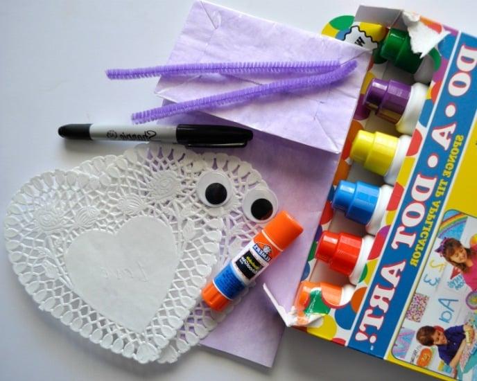 Basteln aus Papier Tüten