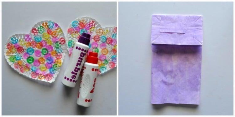 Schmetterlinge Basteln aus Papier Tüten