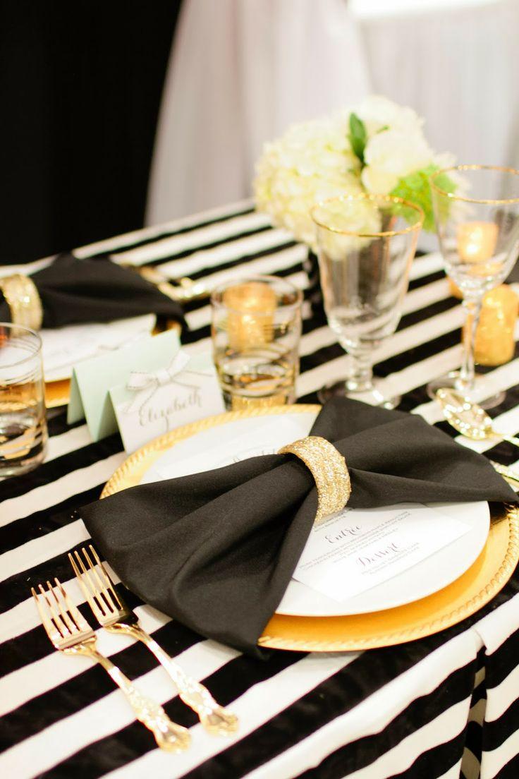 3 Falten Methoden für Servietten Hochzeit