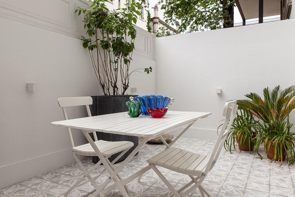 Mediterrane Möbel und Terrassengestaltung: Farbkonzept