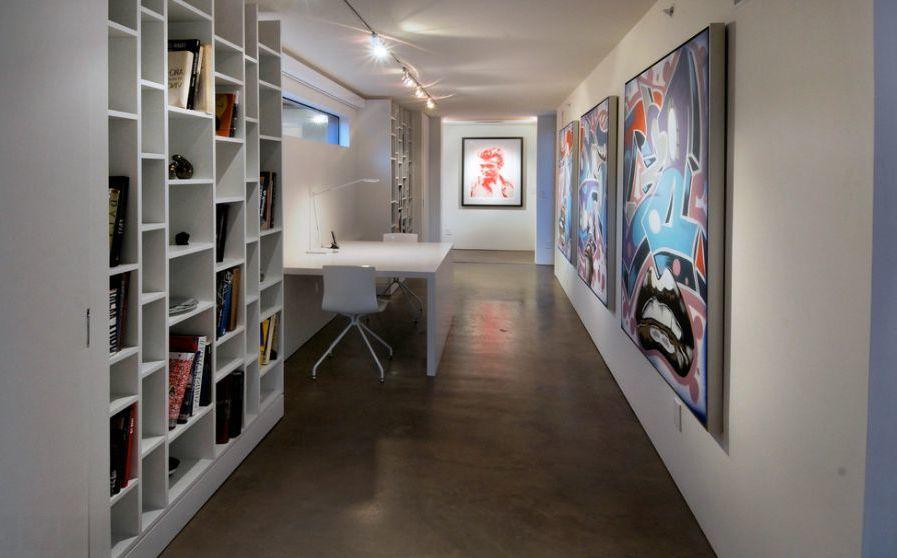 Wand Streichen Ideen für klein Zimmer