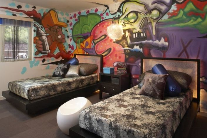 Wand Streichen Ideen für Gastzimmer