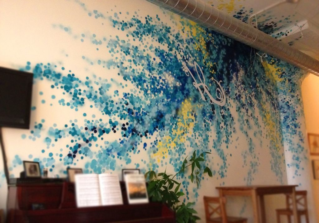 Bunt und stilvoll das Zimmer streichen