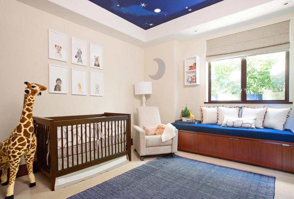 #6 Idee für Schlafzimmer Wandgestaltung: Für meinen kleinenHimmelsgucker