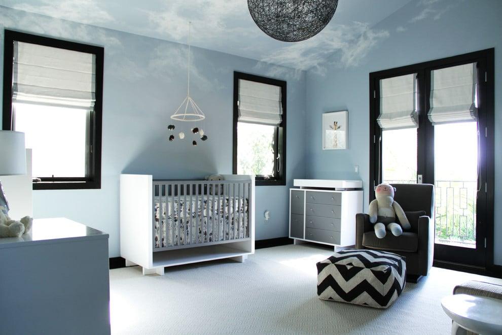 #5 Idee für WandgestaltungSchlafzimmer: Wie auf Wolken schlafen