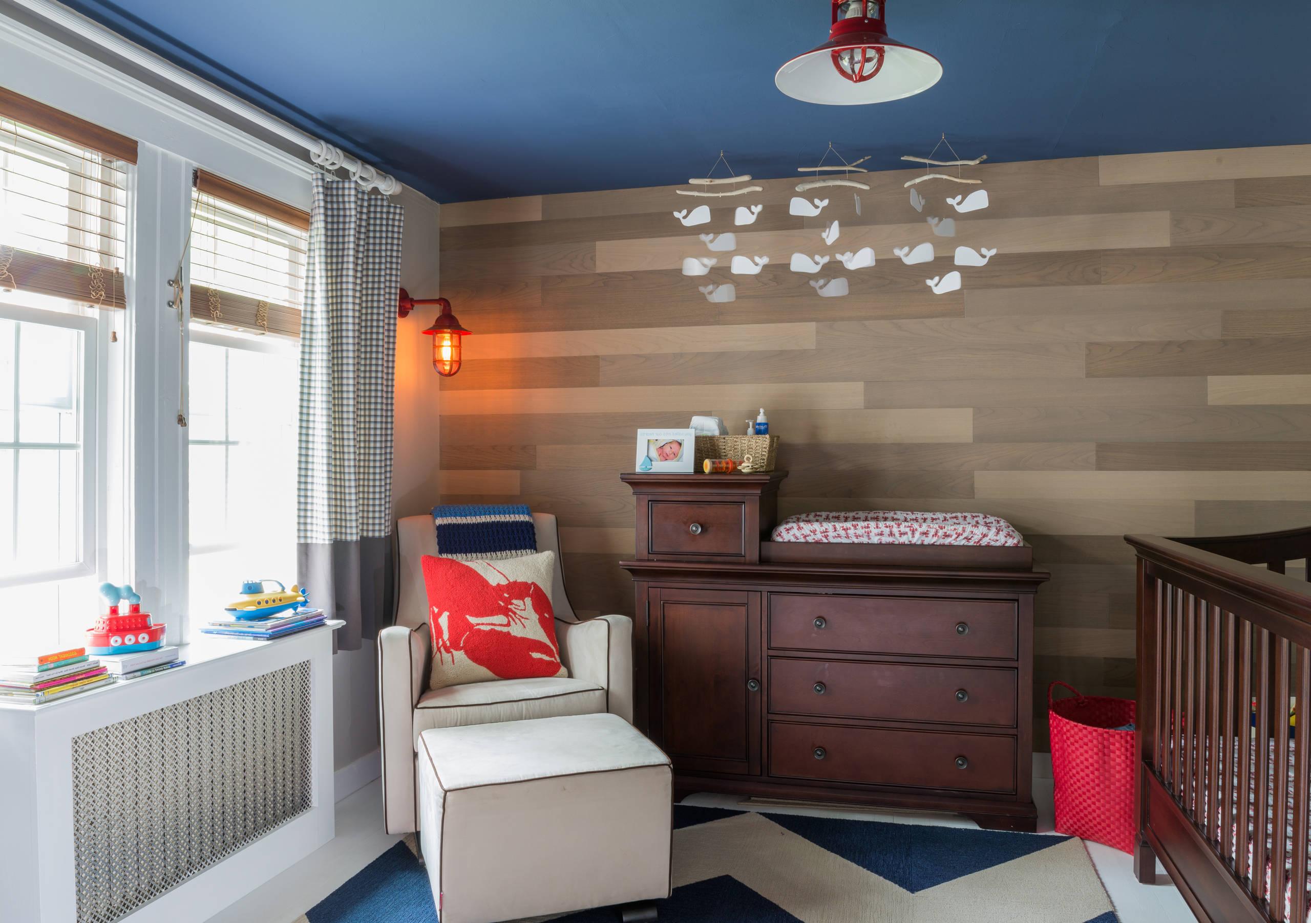 Kinder Schlafzimmer Wandfarbe und Wandverkleidung