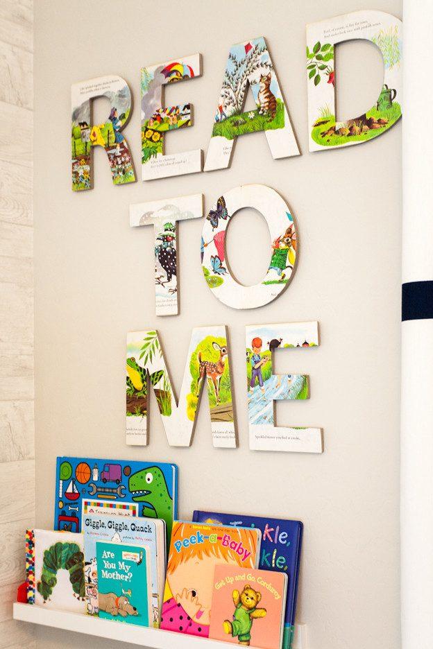 #3 Idee für WandgestaltungSchlafzimmer: Meine kleine Leseratte