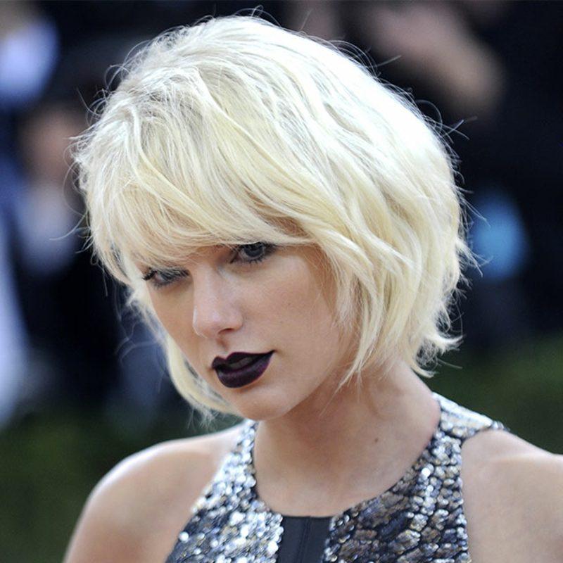 Taylor Swift Haare weiβ färben