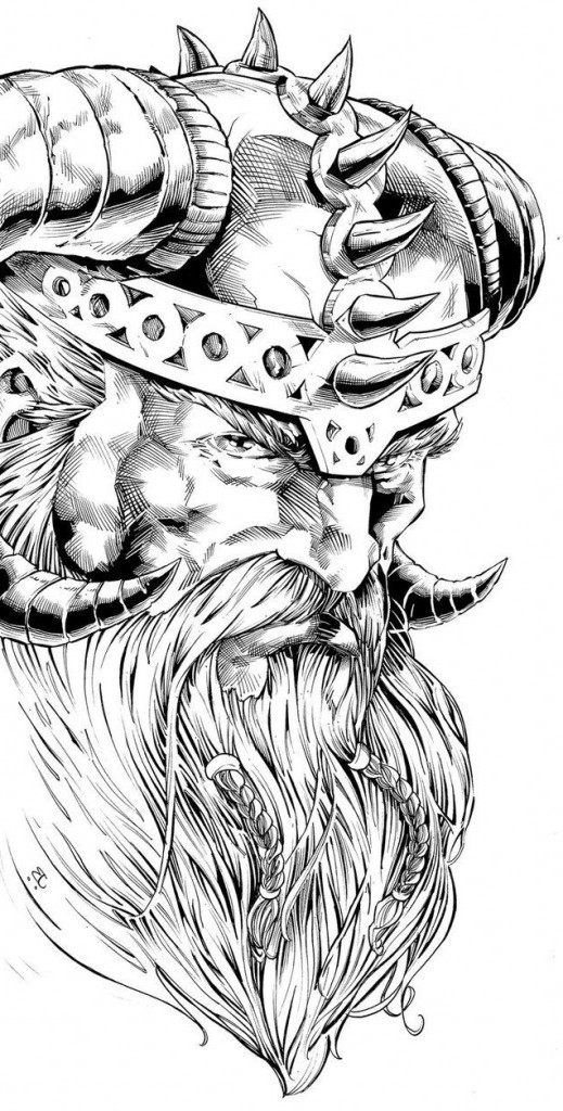 Das beliebteste Wikinger Tattoo: Odin Tattoo