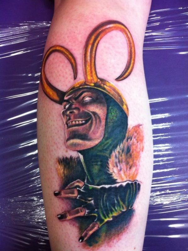 Wikinger Tattoo Loki