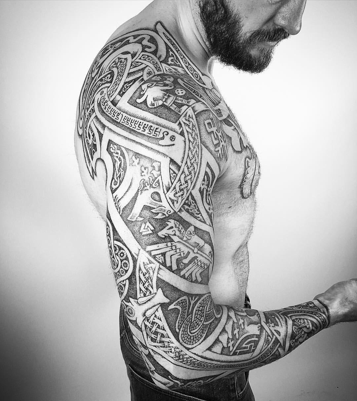 Wikinger Tattoo Tribal Ideen