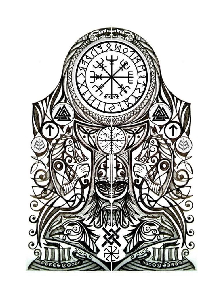 Viking Tattoo Vorlagen