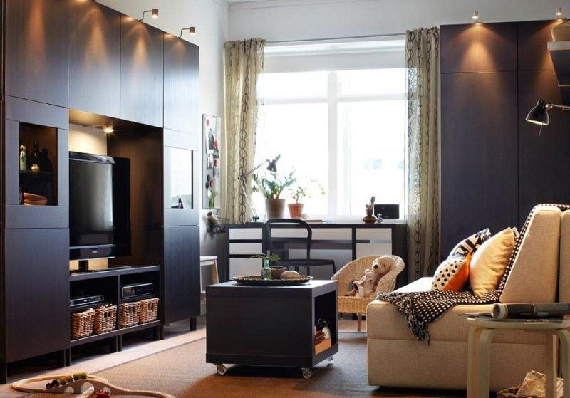 Leuchtelemente im Wohnzimmer setzen stimmungsvolle Akzente