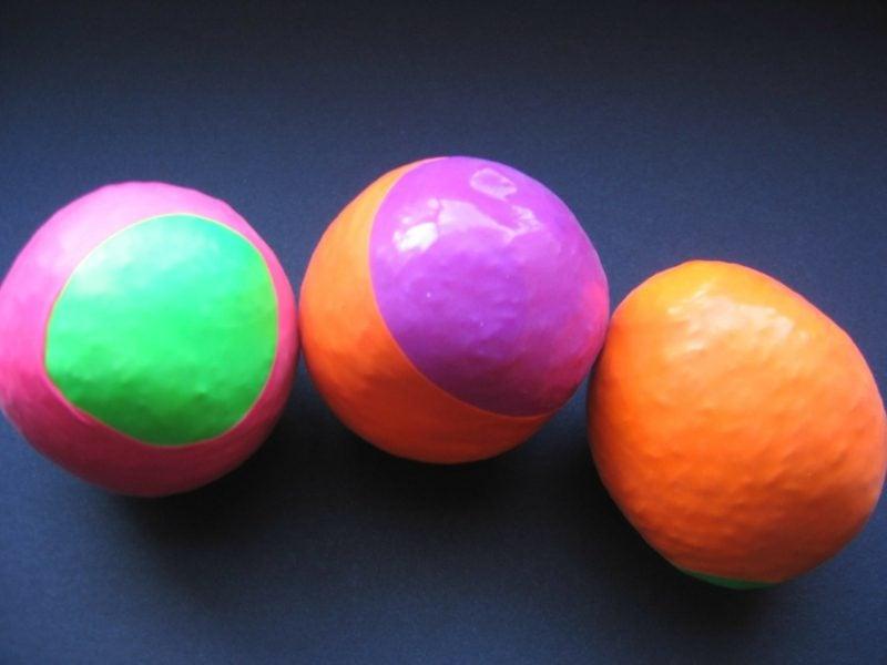 Antistressball selber machen aus Luftballons