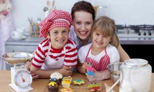 Backen mit Kindern Rezeptideen