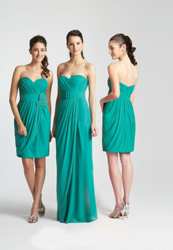 Kleider für Hochzeitsgäste attraktive Modelle