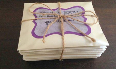 Ӧffne mich wenn Briefe selber machen Anleitung