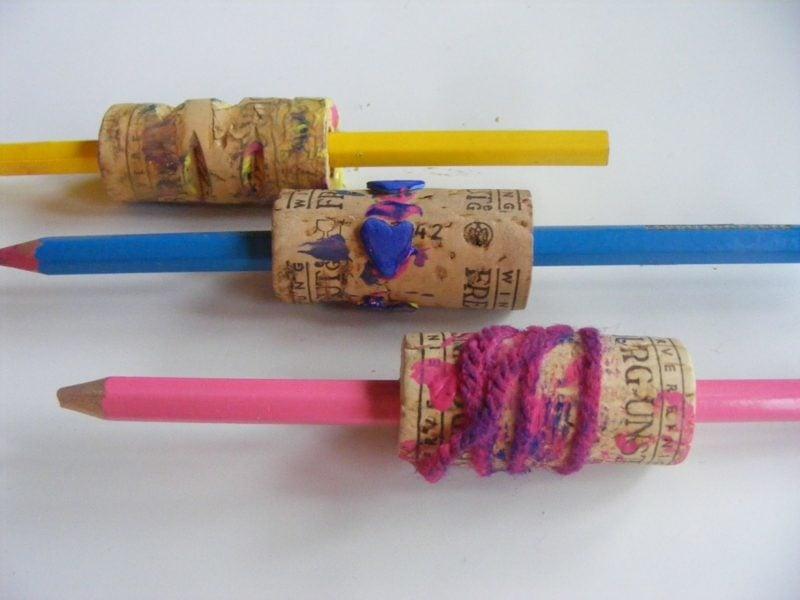Stempeln mit Kindern Stempelrollen anfertigen