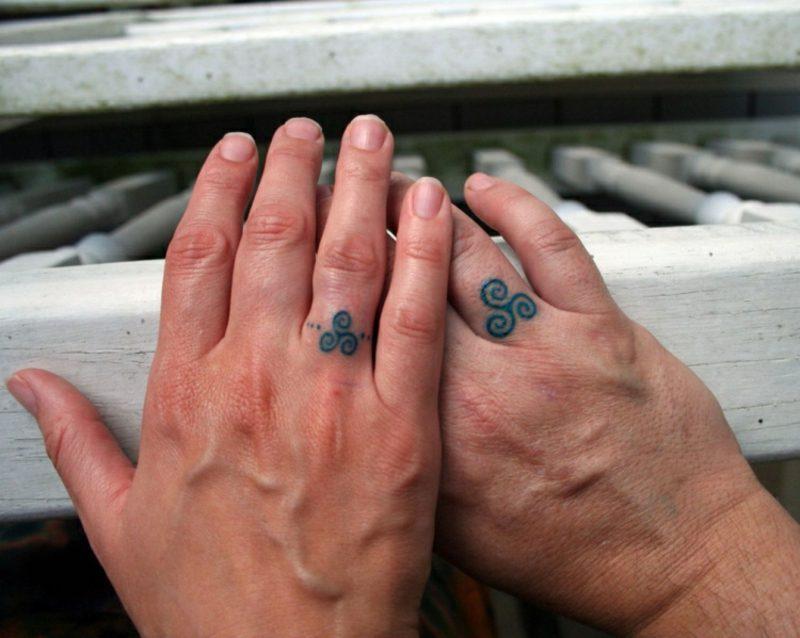 Ehering Tattoo Motive keltisches Symbol