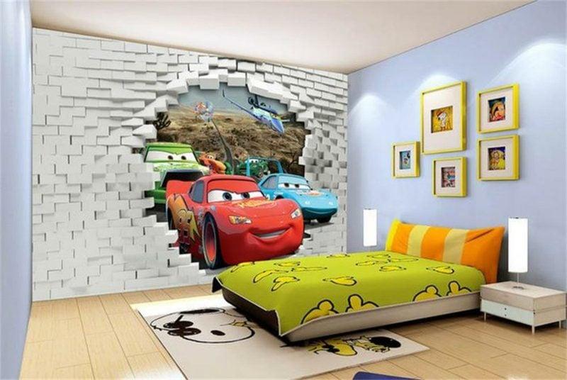 Kinderzimmer Tapeten Ideen Fototapete Disney
