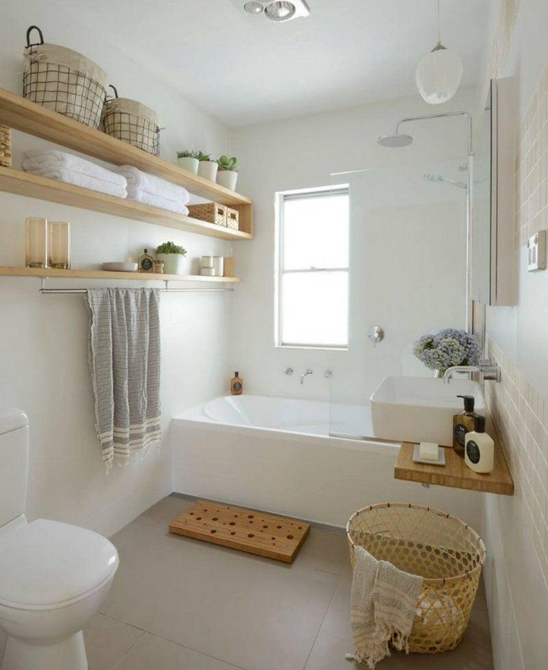 Gäste WC Gestaltung Beispiele kleine Badewanne