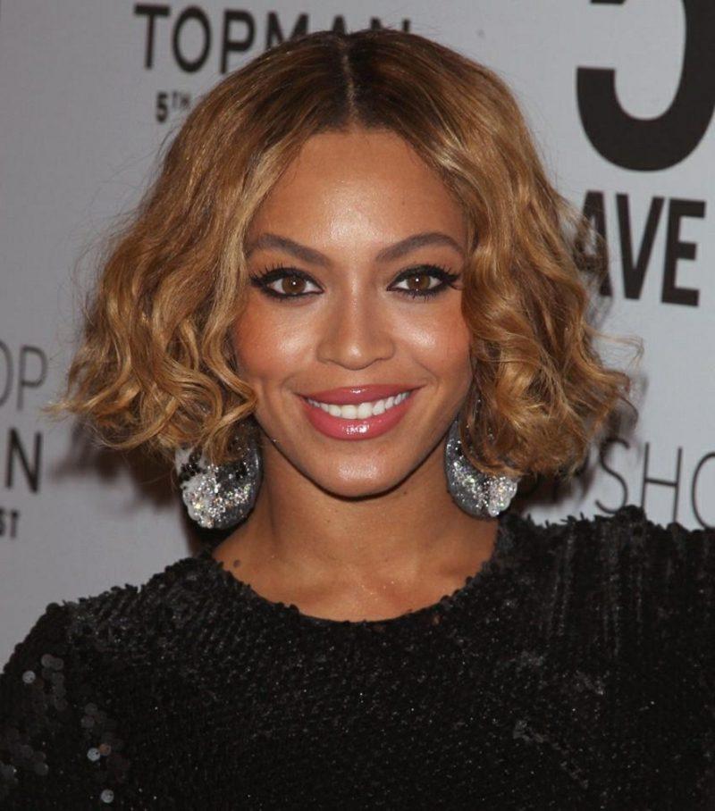 Haarfarbe Caramel Blond Beyonce