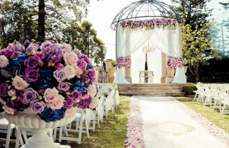 Hochzeit im Garten feiern unvergessliches Fest