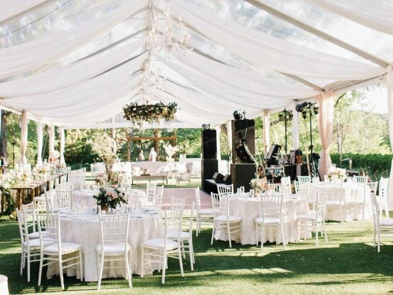 Hochzeit im Garten feiern Gestaltungsideen