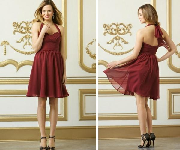 Kleider für Hochzeitsgäste kurz rückenfrei