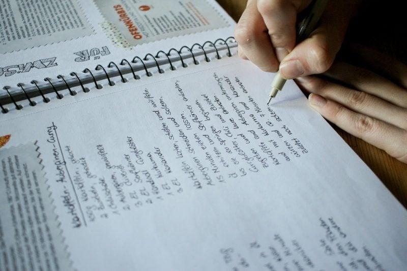 Kochbuch selbst gestalten die Rezepte schreiben