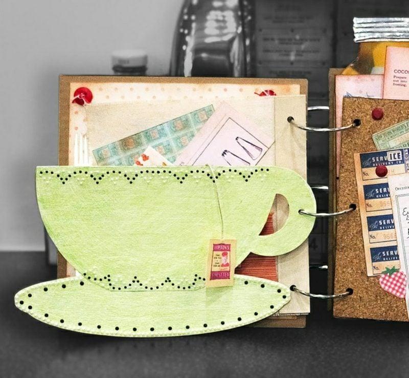 Kochbuch selbst gestalten und fantasievoll dekorieren
