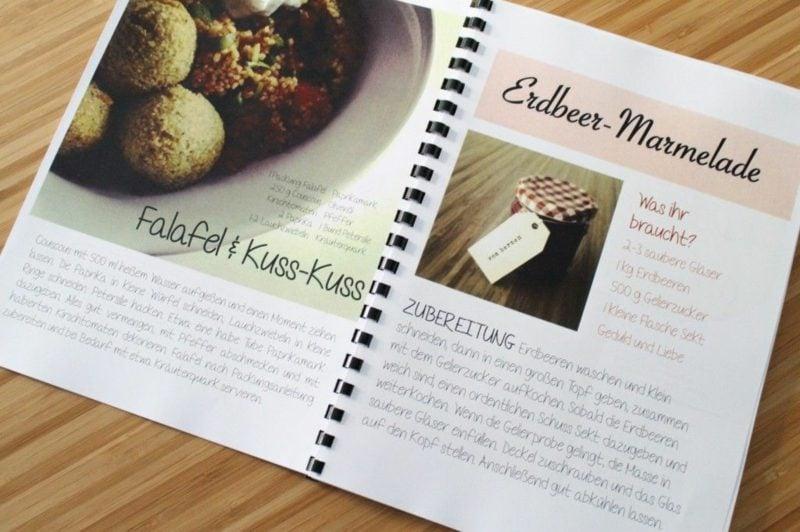 Kochbuch selbst gestalten inspirierende Ideen