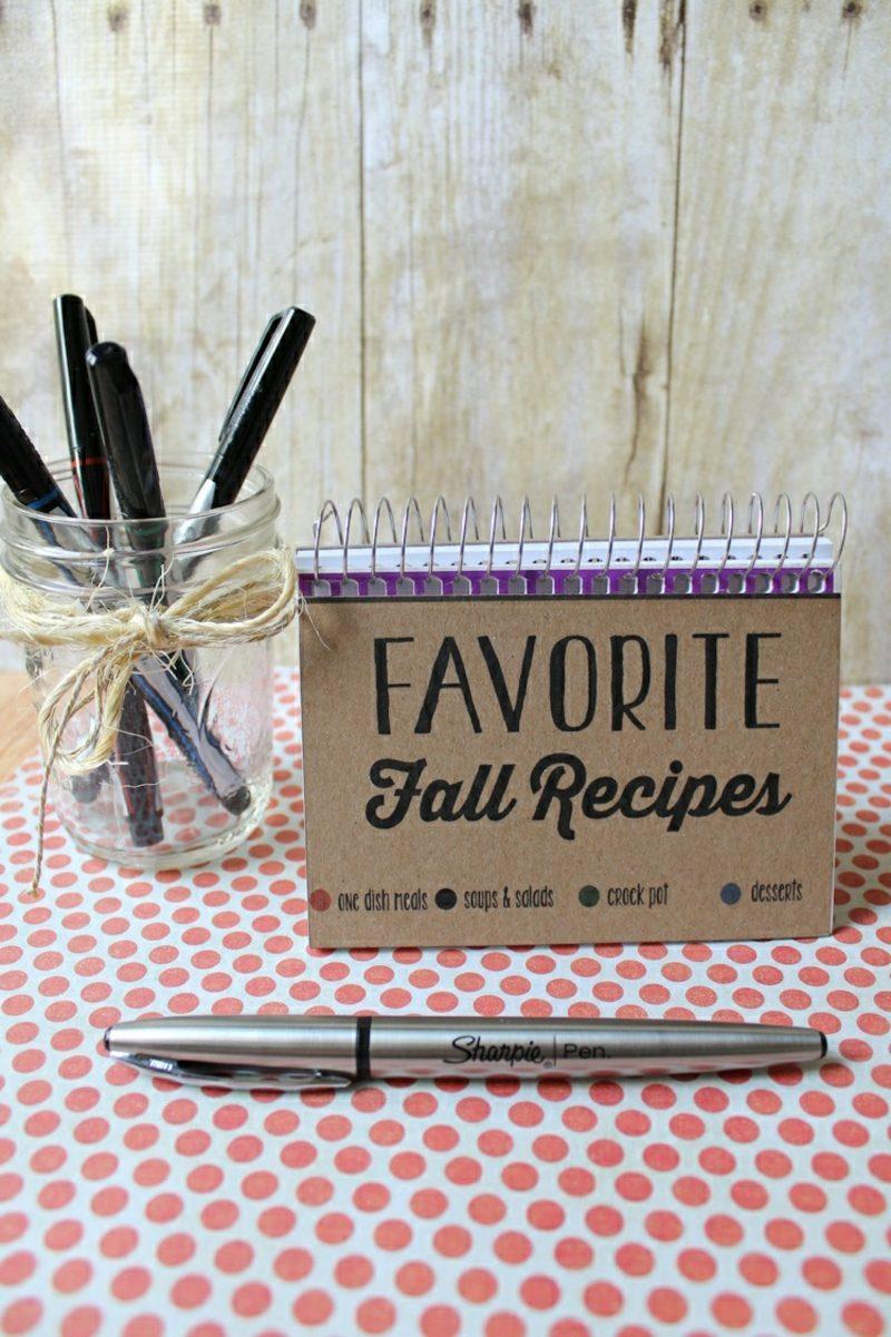 Kochbuch selbst gestalten und in Kategorien teilen