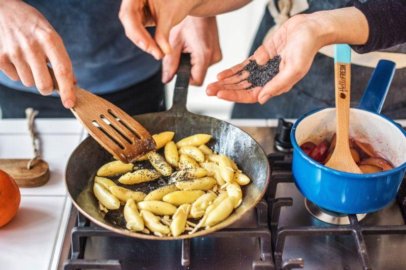 gemeinsam kochen Tipps und Rezepte