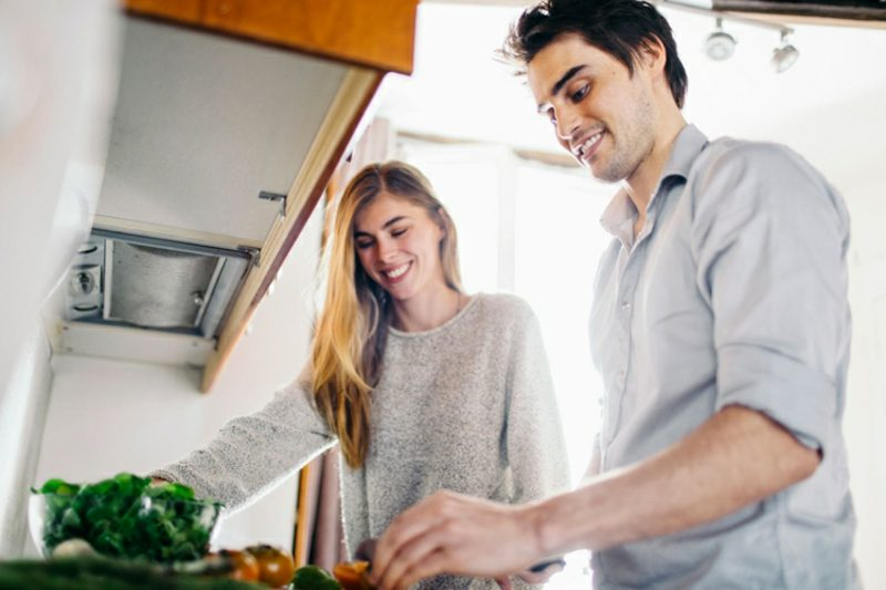gemeinsam kochen Abwechslung in der Beziehung