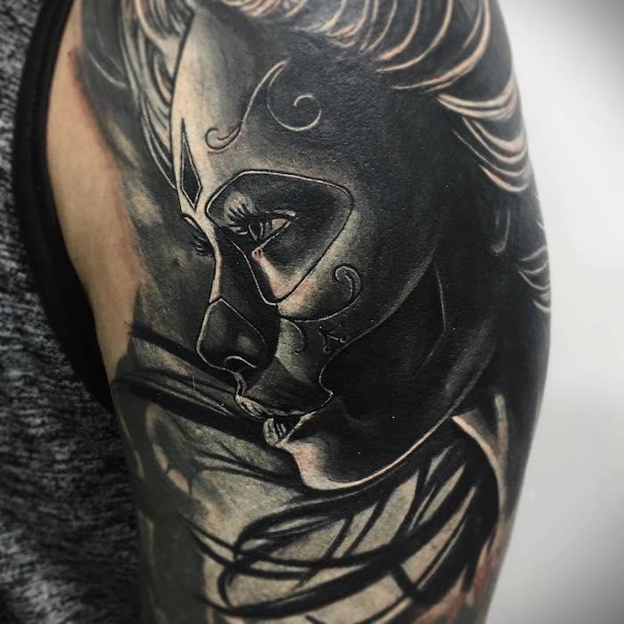 Tattoo Totenkopf mexikanisch Vorlage La Catrina Symbolik