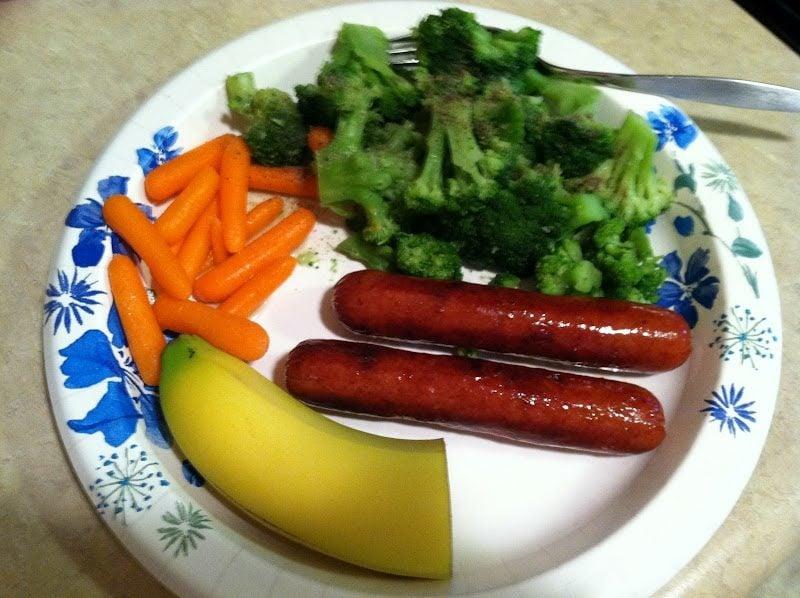 Militär Diät machen Mittagessen