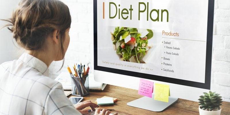 Militär Diät machen einen Plan erstellen
