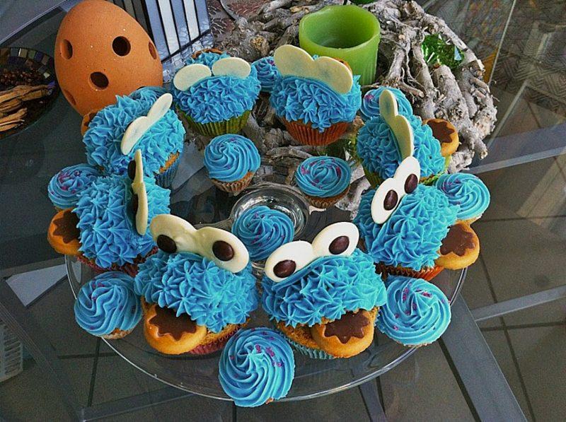 Backen mit Kindern Muffins verzieren tolle Ideen