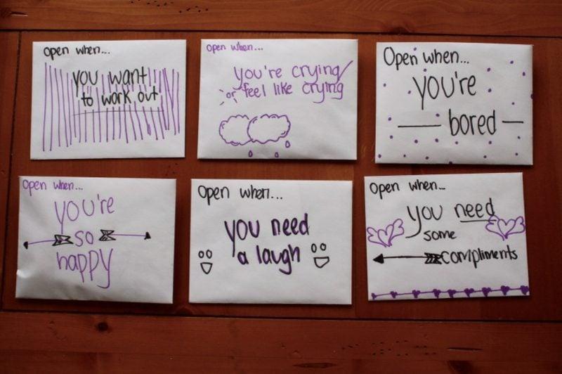 Ӧffne mich wenn Briefe schreiben Ideen und Inspirationen