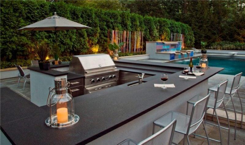 Outdoor Küche Modern : Gartengestaltung modern neue trends für den outdoor bereich
